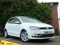 USED 2014 64 VOLKSWAGEN POLO 1.2 SE TSI 3d  **LOW MILEAGE HATCHBACK**