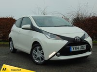 USED 2014 14 TOYOTA AYGO 1.0 VVT-I X-PRESSION 5d * TOUCH SCREEN DIGATIAL DISPLAY * DAB RADIO *