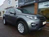 2015 LAND ROVER DISCOVERY SPORT 2.2 SD4 SE TECH 5d AUTO 190 BHP £25995.00