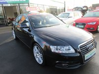 USED 2010 10 AUDI A6 2.0 TDI LE MANS 4d 168 BHP 12 MONTHS MOT... 6 MONTHS WARRANTY.. FINANCE AVAILABLE