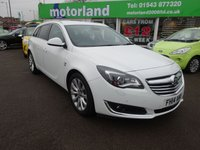 USED 2014 14 VAUXHALL INSIGNIA 2.0 ELITE NAV CDTI ECOFLEX S/S 5d 138 BHP 12 MONTHS MOT... 6 MONTHS WARRANTY.. FINANCE AVAILABLE