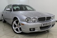 USED 2009 09 JAGUAR XJ 2.7 SOVEREIGN V6 4DR AUTOMATIC 204 BHP FULL JAGUAR SERVICE HISTORY + HEATED/COOLED LEATHER SEATS + LOW MILEAGE + SAT NAVIGATION + PARKING SENSOR + CRUISE CONTROL + MULTI FUNCTION WHEEL + 19 INCH ALLOY WHEELS