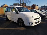USED 2014 64 PEUGEOT PARTNER 1.6 E-HDI TEPEE S 5d AUTO 92 BHP AUTOMATIC DIESEL!..EXCELLENT FUEL ECONOMY!!.LOW CO2 EMISSIONS..£30 TAX! ..FULL HISTORY...ONLY 22135 MILES FROM NEW!!