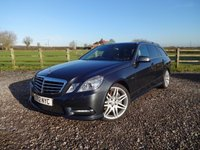 USED 2012 12 MERCEDES-BENZ E CLASS 3.0 E350 CDI BLUEEFFICIENCY S/S SPORT 5d AUTO 265 BHP MASSIVE SPECIFICATION