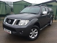 USED 2012 12 NISSAN NAVARA 2.5 DCI TEKNA 4X4 SHR DCB 1d 188 BHP SNUGTOP CANOPY LEATHER FSH NO VAT NO VAT. 4WD. SNUGTOP CANOPY. STUNNING GREY MET WITH FULL GREY LEATHER TRIM. ELECTRIC HEATED SEATS, CRUISE CONTROL. AIR CON. SIDE STEPS. 17 INCH ALLOYS. COLOUR CODED TRIMS. PRIVACY GLASS. PRIVACY GLASS. CARGO LINING. ROOF RAILS. BLUETOOTH PREP. PAS. R/CD PLAYER. 6 SPEED MANUAL. MFSW. TOWBAR. MOT 12/18. ONE PREV OWNER. FULL SERVICE HISTORY. FCA FINANCE APPROVED DEALER. TEL 01937 849492