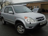 USED 2002 52 HONDA CR-V 2.0 I-VTEC SE SPORT 5d 148 BHP GREAT VALUE 4x4+MOT JULY 2018