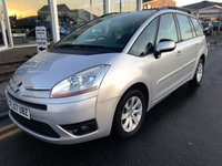 2007 CITROEN C4 GRAND PICASSO 1.6 VTR PLUS HDI 5d 110 BHP £3995.00