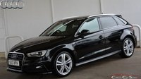 USED 2013 13 AUDI A3 2.0TDi S-LINE 5 DOOR 6-SPEED 150 BHP Finance? No deposit required and decision in minutes.