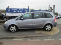 USED 2008 58 VAUXHALL ZAFIRA 1.6 EXCLUSIV 5d 105 BHP 1 Former Keeper .New MOT & Full Service Done on purchase + 2 Years FREE Mot & Service Included After . 3 Months Russell Ham Quality Warranty . All Car's Are HPI Clear . Finance Arranged - Credit Card's Accepted . for more cars www.russellham.co.uk  - Spare key and book pack .