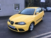 2007 SEAT IBIZA 1.2 REFERENCE SPORT 12V 5d 69 BHP £1995.00