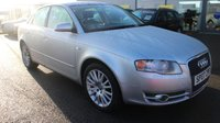 USED 2007 07 AUDI A4 2.0 TDI SE TDV 4d AUTO 140 BHP LOW DEPOSIT OR NO DEPOSIT FINANCE AVAILABLE.