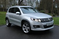 USED 2014 64 VOLKSWAGEN TIGUAN 2.0 R LINE TDI BLUEMOTION TECHNOLOGY 4MOTION 5d 139 BHP AIR CONDITIONING - ELECTRIC WINDOWS