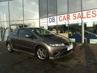 USED 2011 60 HONDA CIVIC 1.3 I-VTEC TYPE S 3d 98 BHP FREE 6 MONTHS RAC WARRANTY AND FREE 12 MONTHS RAC BREAKDOWN COVER