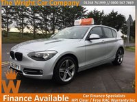 USED 2013 63 BMW 1 SERIES 2.0 116D SPORT 5d AUTO 114 BHP AUTOMATIC SPORT , NICE EXAMPLE