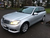 USED 2011 61 MERCEDES-BENZ C CLASS 2.1 C220 CDI BLUEEFFICIENCY SE EDITION 125 5d 170 BHP LOCAL 2 OWNER CAR WITH FSH AND NEW MOT