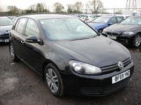 2009 VOLKSWAGEN GOLF 1.6 BLUEMOTION SE TDI 5d 103 BHP £4000.00