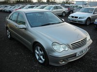 USED 2006 06 MERCEDES-BENZ C CLASS 3.0 C320 CDI AVANTGARDE SE 4d AUTO 222 BHP Fsh - Full leather - Sought after C320 diesel