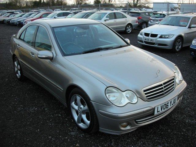 2006 06 MERCEDES-BENZ C CLASS 3.0 C320 CDI AVANTGARDE SE 4d AUTO 222 BHP