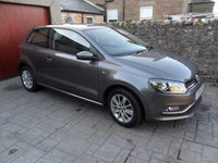 USED 2014 64 VOLKSWAGEN POLO 1.4 SE TDI BLUEMOTION 3d 74 BHP £0 ROAD TAX. FSH. 1 OWNER. VERY ECONOMICAL.