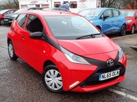 USED 2015 65 TOYOTA AYGO 1.0 VVT-I X 5d 69 BHP New Model With ONLY 6,000 Miles !!