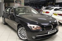 USED 2010 59 BMW 7 SERIES 3.0 730D SE 4d AUTO 242 BHP SUPERB SERVICE HISTORY + FULL OYSTER LEATHER SEATS + PRO SAT NAV + BLUETOOTH + ELECTRIC TAILGATE + PARKING SENSORS + HEATED FRONT SEATS + 18 INCH ALLOYS + 4 WAY CLIMATE CONTROL + AUTOMATIC LIGHTS