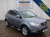 USED 2011 61 SSANGYONG KORANDO 2.0 EX 5d AUTO 175 BHP Full Service History Leather 0% Deposit FInance Available