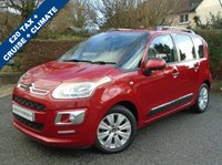 USED 2014 64 CITROEN C3 PICASSO 1.6 PICASSO EXCLUSIVE HDI 5d 91 BHP ** FSH + £20 TAX + 68 MPG **