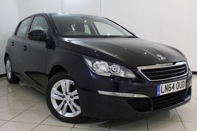 View our 2014 64 PEUGEOT 308 1.6 E-HDI ACTIVE 5DR 114 BHP