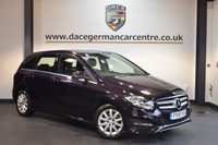 USED 2015 15 MERCEDES-BENZ B CLASS 2.1 B200 CDI SE 5DR 134 BHP + FULL BLACK LEATHER INTERIOR + 1 OWNER FROM NEW + SATELLITE NAVIGATION + REVERSE CAMERA + BLUETOOTH + CRUISE CONTROL + RAIN SENSORS + 16 INCH ALLOY WHEELS +