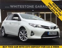 USED 2012 62 TOYOTA AURIS 1.8 EXCEL VVT-I 5d AUTO 99 BHP NEW SHAPE, FREE ROAD TAX, KEYLESS, NAV, CRUISE, RETRACTABLE MIRRORS, FRONT AND REAR PARKING SENSORS, PARK ASSIST, FSH