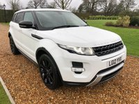 2012 LAND ROVER RANGE ROVER EVOQUE 2.2 SD4 DYNAMIC 5d 190 BHP £16500.00