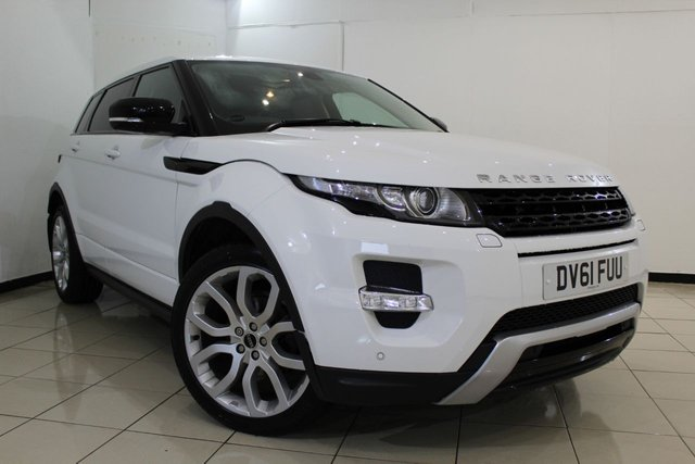 View our 2011 61 LAND ROVER RANGE ROVER EVOQUE 2.2 SD4 DYNAMIC 5DR AUTOMATIC 190 BHP