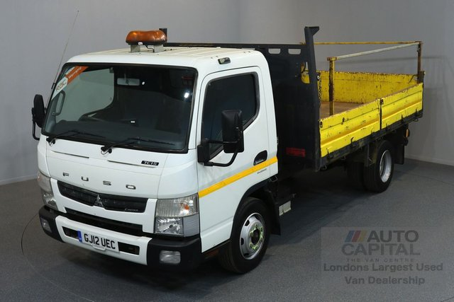 2012 12 MITSUBISHI FUSO CANTER 3.0 7C15 148 BHP AUTO GEARBOX TIPPER ONE  OWNER FROM NEW, FULL SERVICE HISTORY