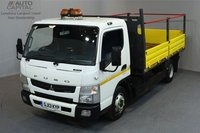 USED 2013 13 MITSUBISHI FUSO CANTER 3.0 7C15 34 148 BHP AUTO GEARBOX TIPPER  ONE OWNER FROM NEW, FULL SERVICE HISTORY