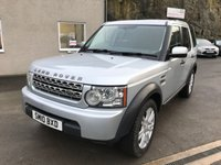 USED 2010 10 LAND ROVER DISCOVERY 2.7 4 TDV6 COMMERCIAL 1d 190 BHP *FSH**RECENT CAMBELT**1 OWNER FROM 6 MONTHS OLD*