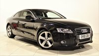 USED 2010 10 AUDI A5 2.0 TDI S LINE 2d 168 BHP + 1 OWNER +  SERVICE HISTORY + + AIR CON + AUX + BLUETOOTH