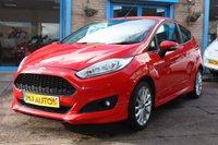 USED 2015 65 FORD FIESTA 1.0 ZETEC S 3dr 124 BHP ZERO DEPOSIT FINANCE AVAILABLE