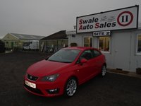 2013 SEAT IBIZA 1.2 TSI FR 3d 104 BHP £6595.00