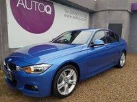 2013 BMW 3 SERIES 2.0 320D XDRIVE M SPORT 4d 181 BHP £15490.00
