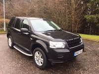 USED 2013 63 LAND ROVER FREELANDER 2 2.2 TD4 BLACK AND WHITE 5d 150 BHP 6 MONTHS PARTS+ LABOUR WARRANTY+AA COVER