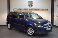 USED 2014 63 VOLKSWAGEN TOURAN 1.6 S TDI BLUEMOTION TECHNOLOGY 5DR 103 BHP + FULL VW SERVICE HISTORY + 1 OWNER FROM NEW + SPORT SEATS + CRUISE CONTROL + AUXILIARY PORT + 7 SEATS + HEATED MIRRORS + 15 INCH ALLOY WHEELS +