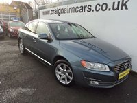 USED 2014 14 VOLVO S80 2.0 D3 SE LUX 4d AUTO 134 BHP One Owner Car With Full Volvo Dealer History