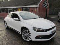 2011 VOLKSWAGEN SCIROCCO 2.0 GT TDI 2dr 170 BHP £5990.00