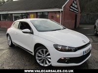 USED 2011 11 VOLKSWAGEN SCIROCCO 2.0 GT TDI 2dr 170 BHP GREAT LOOKING CAR / 170 BHP