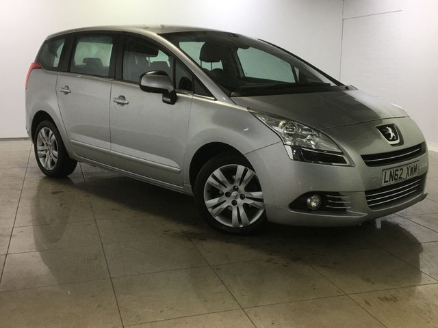 View our 2012 62 PEUGEOT 5008 1.6 E-HDI ACTIVE 5d AUTO 112 BHP
