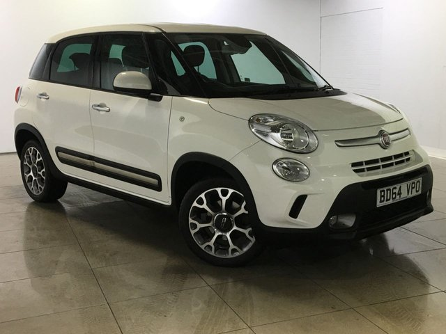View our 2014 64 FIAT 500L 1.2 MULTIJET TREKKING 5d 85 BHP