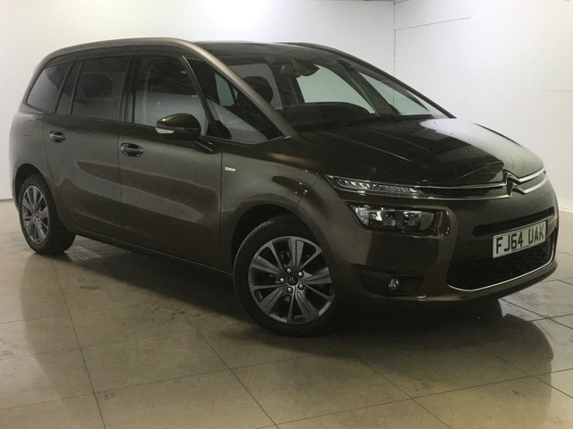 View our 2014 64 CITROEN C4 GRAND PICASSO 1.6 E-HDI AIRDREAM EXCLUSIVE PLUS 5d 113 BHP