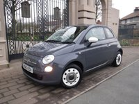 USED 2013 63 FIAT 500 1.2 COLOUR THERAPY 3d 69 BHP *** FINANCE & PART EXCHANGE WELCOME *** £ 30 ROAD TAX AIR/CON CD PLAYER