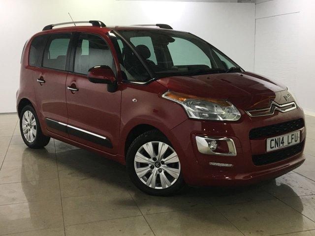 View our 2014 14 CITROEN C3 PICASSO 1.6 PICASSO EXCLUSIVE HDI 5d 91 BHP