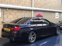 USED 2012 12 BMW 5 SERIES 4.4 Saloon 4dr Petrol Automatic (232 g/km, 552 bhp) +FULL SERVICE+WARRANTY+FINANCE